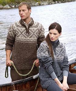 Мужской свитер K4185 от Aran Crafts