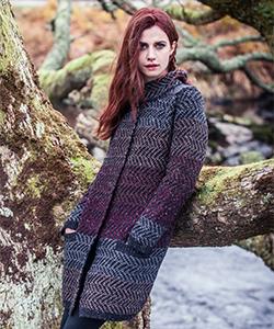 Женское вязаное пальто FSB22P от Fisherman Out of Ireland