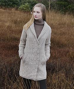 Женское пальто SH4358 от Aran Crafts