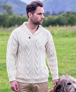 Мужской свитер SH4177 от Aran Crafts
