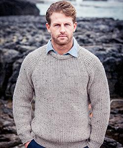 Мужской свитер С761 от Aran Crafts