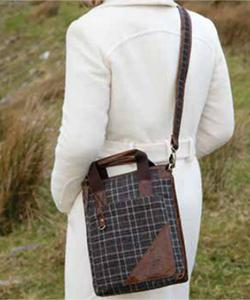 Твидовая сумка планшет R514 от Carraig Donn