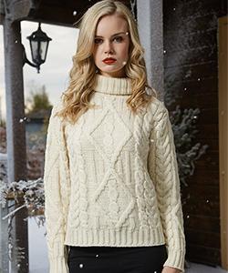 Женский свитер R2080 от Aran Crafts