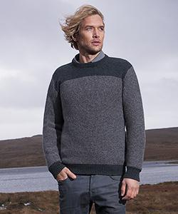Мужской шерстяной свитер FD165X от Fisherman Out of Ireland