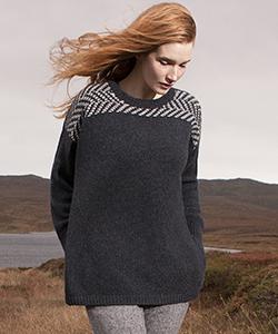 Женский шерстяной свитер SD155N от Fisherman Out of Ireland